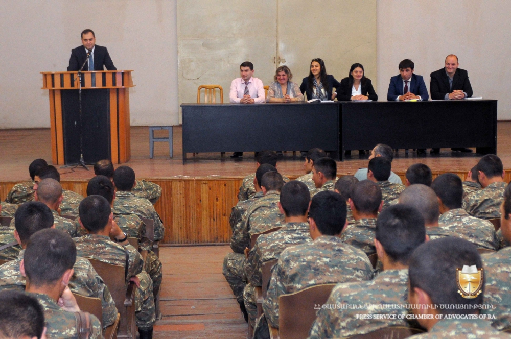 """The """"Competent Army """" program is launched in the military units of Artsakh"""