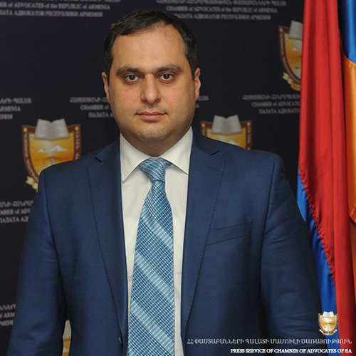 MESSAGE OF THE CHAIRMAN OF THE CHAMBER OF ADVOCATES OF THE RA ARA ZOHRABYAN  ON THE OCCASION OF  23th ANNIVERSARY OF INDEPENDENCE OF THE RA